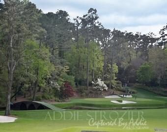 Augusta National Golf Course Georgia Hole 12 Amen Corner Print