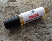 Lioness Perfume Oil // Botanical Scent // Organic Jojoba // Essential Oils // Sweet Lavender Patchouli