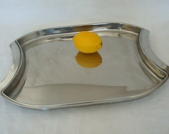 Vintage Gottinghen 18/10 Stainless Steel Tray - Italy