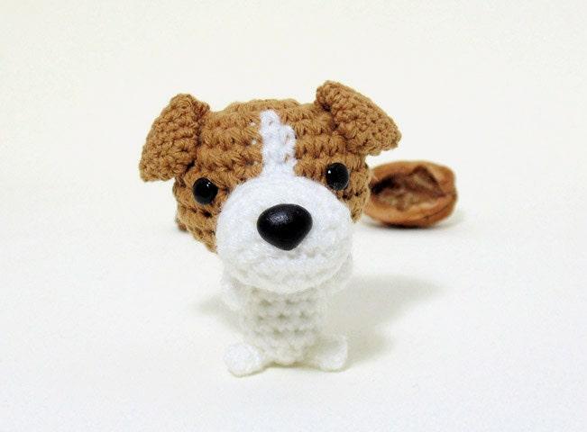 Amigurumi Jack Russell Terrier plushie Jack Russell plush