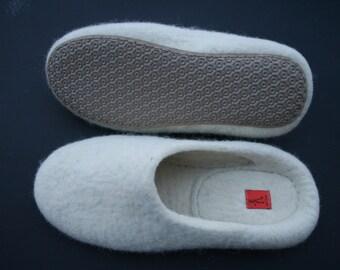 Men's felted slippers size US 13/13,5 medium