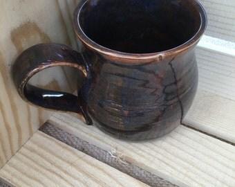 Coffee mug pottery Ceramic- holiday gift- teacher gifts - gifts for christmas- stocking stuffers- gifts under 20- coffee mug