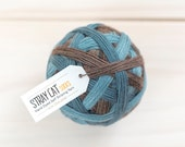 SET ADRIFT - vibrant hand dyed self striping sock yarn
