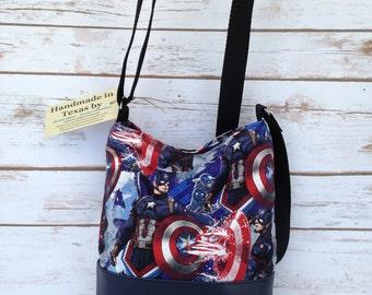 Captain America Crossbody hipster-style bag