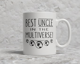 Best Uncle Mug, Best Uncle In The Multiverse