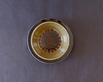 Gunvor Olin-Grönqvist Kosmos Rimmed Soup / Cereal Bowl - Arabia, Finland 1960s