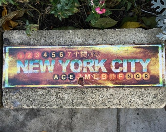 New York City - 4x15 in.