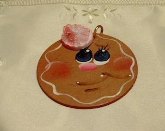 Christmas Ornament, Gingerbread Ornament, Tree Ornament, Gingerbread Decor, Xmas Decor, Gingerbread,