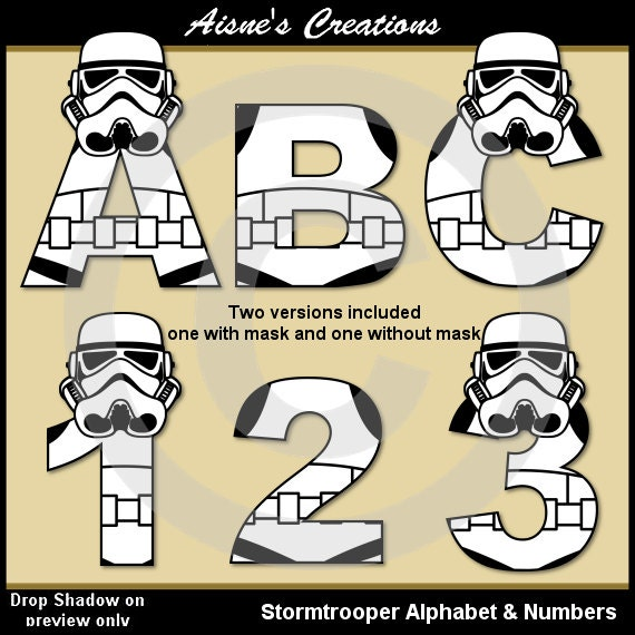 Letter Star Wars Name