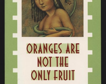 Oranges Are Not The Only Fruit, Jeanette Winterson, Lesbian fiction, vintage literature