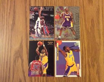 4 Kobe Bryant (Los Angeles Lakers) Rookie Cards