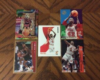 25 Miami Heat Basketball Cards