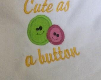Embroider Baby Bib