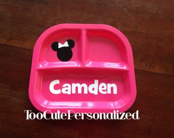 Child's Personalized Divided Plate