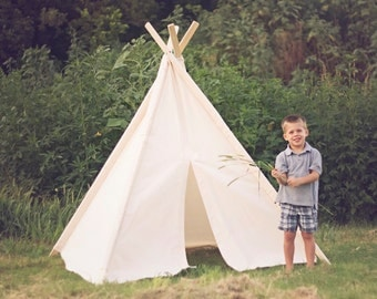 Tent No. 0296XL - Kid's Extra Large Teepee Play Tent