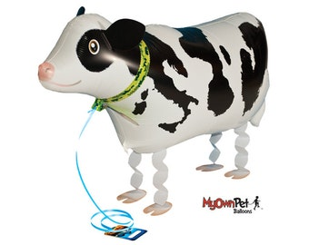 """26"""" Cow My Own Pet balloon farm party decoration"""