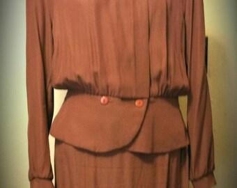 Vintage Marvel Agent Carter Diesel Punk Dress Suit size 12