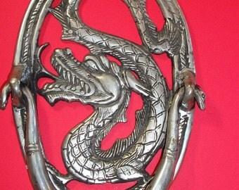 Balinese Metal Serpent Door Knocker