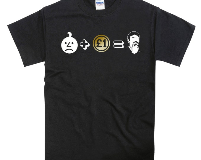 Ashens Sad Onion + Pound Coin Unisex Tshirt