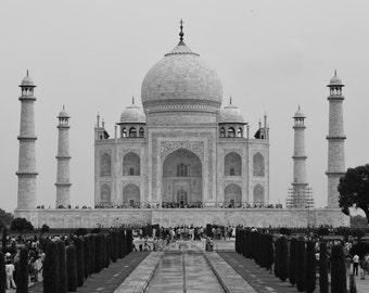 India Photography // Travel Photography // India Art // Architecture Photopgrahy // Taj Mahal Print // Taj Mahal Photo // India Wall Art