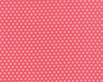 Moda Bright Sun Pebbles Dot in Magenta by Sherri and Chelsi of A Quilting Life for Moda Fabrics