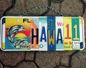 Hawaii. Dolphin. Beach. Maui. Licenseplate. Art. Custom. Giftidea. Roomdecor. Beachdecor. Sign. Girls. Sea. Usa. Nautical