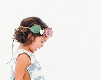Rosie Posie Headband