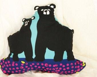 Decorative pillow Bear decorative pillow Bear shape pillow Animal shaped pillow Decorative animal pillow Scandinavian pillow FINLAYSON