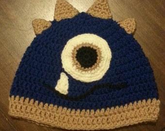 Crochet Monster Hat, Crochet Monster Beanie