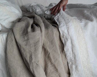 LINEN SHEET. Bed sheets French linen. Handmade linen bedding by MOOshop.*40