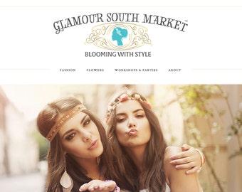 Squarespace e-commerce website design, shopify website design, shop website design, boutique website design