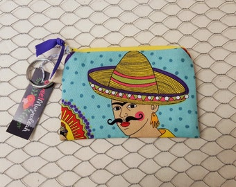 Coin pouch, Small zipper pouch, Credit card holder
