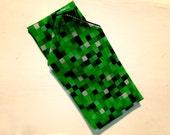 Green 8-bit green video g...