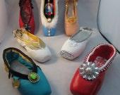 The Nutcracker Suite - Seven Decorated Pointe Shoes