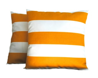 One Premier Prints Indoor/Outdoor red striped Pillow Covers, 18x18, cushion, decorative pillow, throw pillow