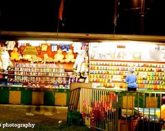 Balloon game at the county fair 8x10