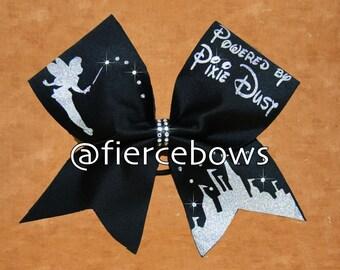 Powered By Pixie Dust® Rhinestone Cheer Bow