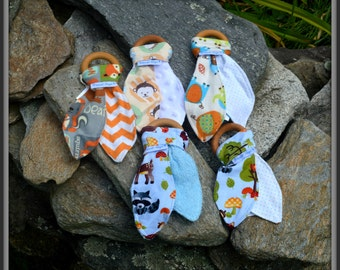 Fabric & Wooden Teethers