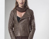 Women's cardigans - Brown cardigan, jacket , womens  tops - womens clothing