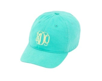 Mint youth Ball cap with monogram option