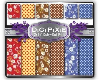 13 Daisy-Polka Patterns