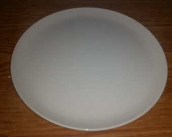 Rare Vintage LAGARDO TACKETT for Schmid 1961 pure white Ironstone Plate