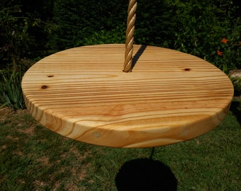 Wood Tree Swing- Pine Disc