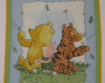 Classic Winnie the Pooh Baby Quilt