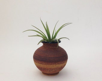 Hand Crafted Textured Ceramic Vase