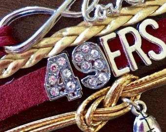 49ers bracelet