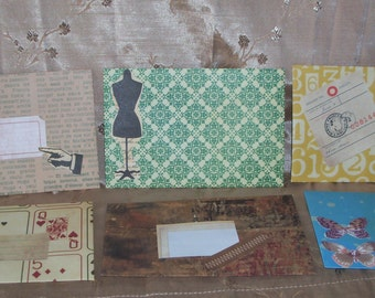 Handmade Envelopes Set of 6