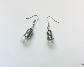 Earrings lamp