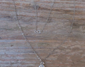 Vintage sterling silver Celtic pendant and chain