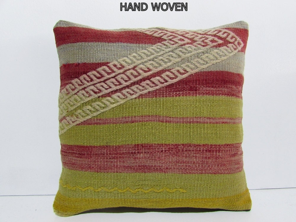 Throw Pillows On Clearance : kilim pillow cover knit bench throw pillow toss pillow cover